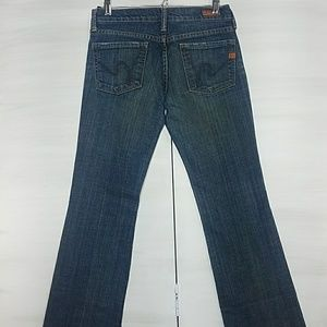 Citizens of Humanity Bootcut Low Waist Jeans